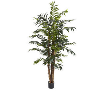 5' Bamboo Palm Tree by Nearly Natural - H357364