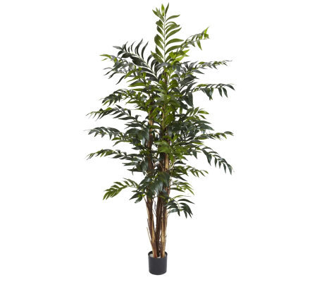 5' Bamboo Palm Tree by Nearly Natural