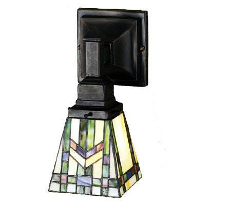 Meyda Praire Wheat Mission Sconce