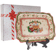 Temp-tations Old World Holiday Platter with Gift Box