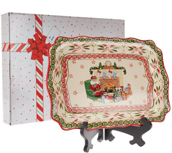 Temp-tations Old World Holiday Platter with Gift Box - H206765