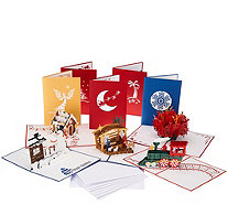 Lovepop Set of 10 3D Pop-Up Greeting Cards - H210465