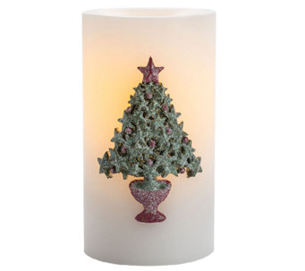 "Candle Impressions 6"" Star Tree Candle - H287065"