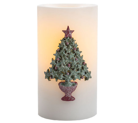 "Candle Impressions 6"" Star Tree Candle"