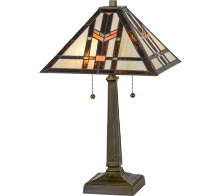 "Meyda Tiffany-Style 23.5"" Prairie Wheat Table Lamp"