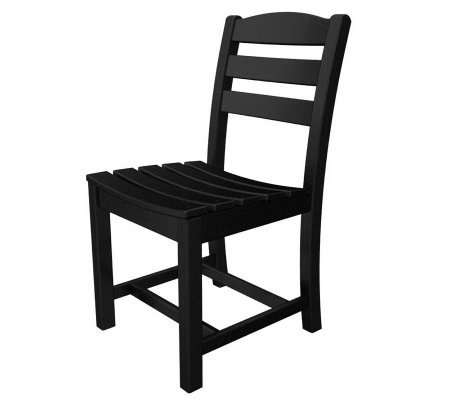 POLYWOOD La Casa Cafe Armless Dining Chair