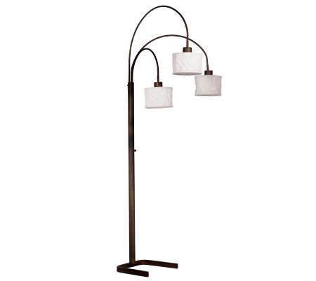 Kenroy Home Crush 3-Arm Arc Lamp