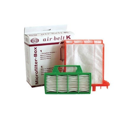 Sebo Filter Set for K-Series Vacuum Cleaners