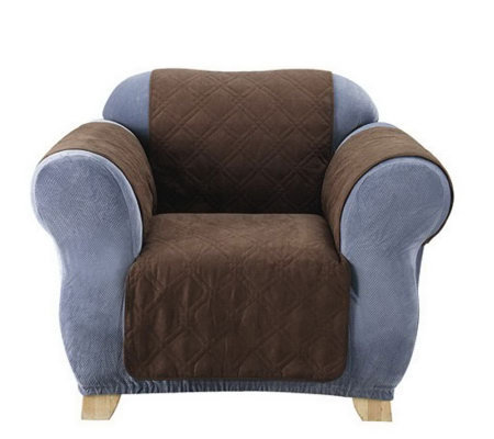 Sure Fit Soft Faux-Suede Furniture Friend Pet Throw - Chair
