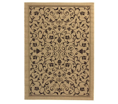 "Safavieh Courtyard Heirloom Gate 5'3"" x 7'7"" Rug"