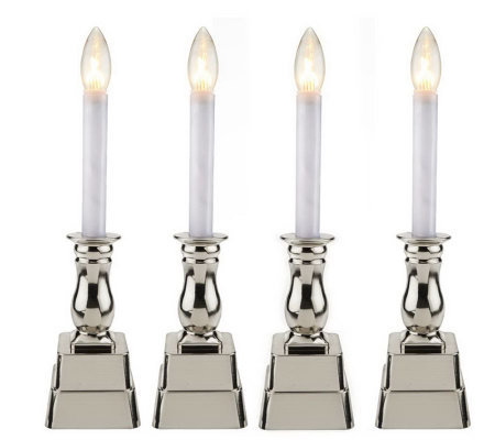 Bethlehem Lights Set of 4 Battery Op. Window Candles