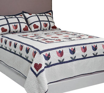 Home Sweet Home Full/Queen Quilt Set with Shams - H204766