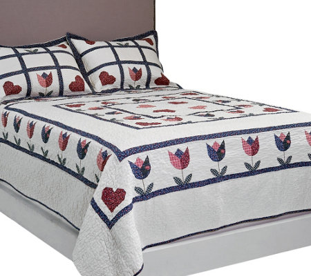 Home Sweet Home Full/Queen Quilt Set with Shams