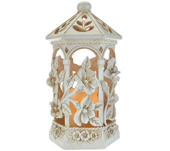 Illuminated Floral Lantern by Home Reflections - H208266