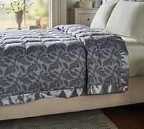 Northern Nights 550FP Cotton Fern Print Queen Down Blanket - H212866
