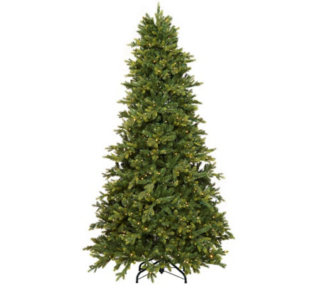 """As Is"" Scott Living 5' Color Flip LED Fir Christmas Tree w/ 7 Functions"