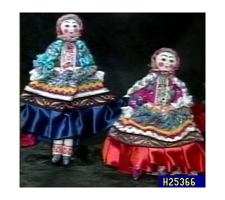 Small Russian Peasant Cloth Doll