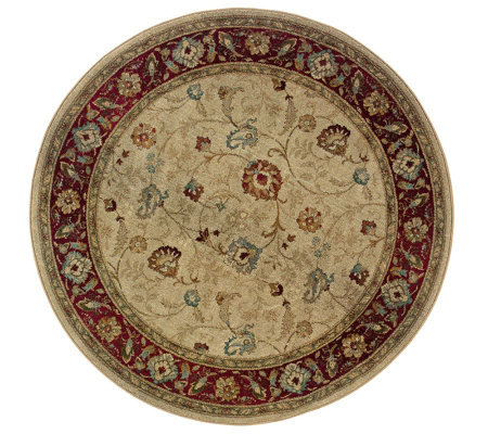 Sphinx Samantha 6' Round Area Rug by Oriental Weavers