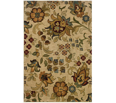 "Antique Garden Window 3'10"" x 5'5"" Rug by Oriental Weavers"