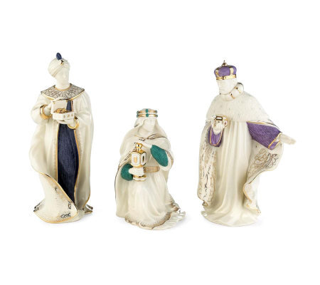Lenox First Blessing Nativity Three Kings