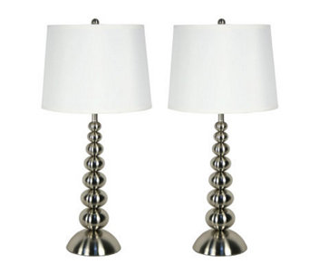 "Kenroy Home 30"" Baubles Set of 2 Table Lamps - H171167"