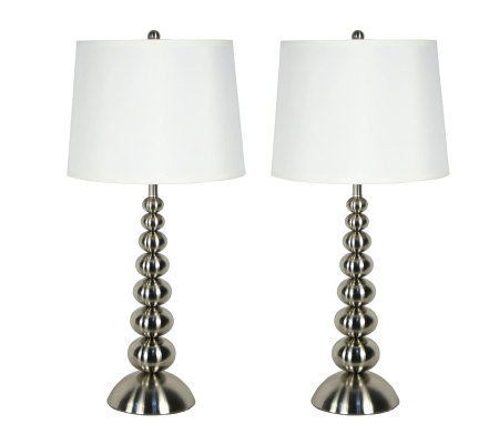 "Kenroy Home 30"" Baubles Set of 2 Table Lamps"