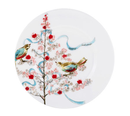 Lenox Simply Fine Chirp Seasonal Salad Plate