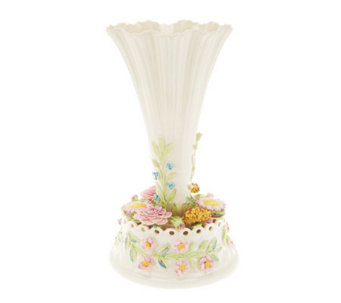 Belleek Flowered Table Centerpiece - H198767
