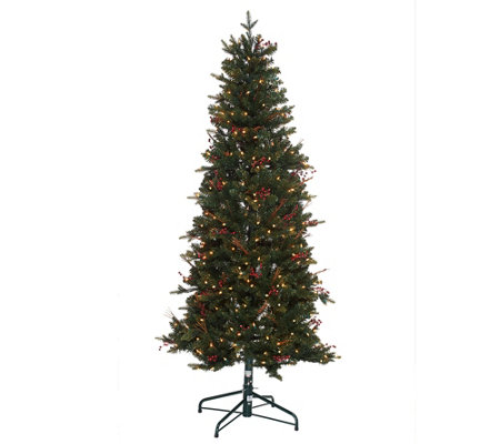 """As Is"" Bethlehem Lights 7.5' Lakewood Fir Christmas Tree"