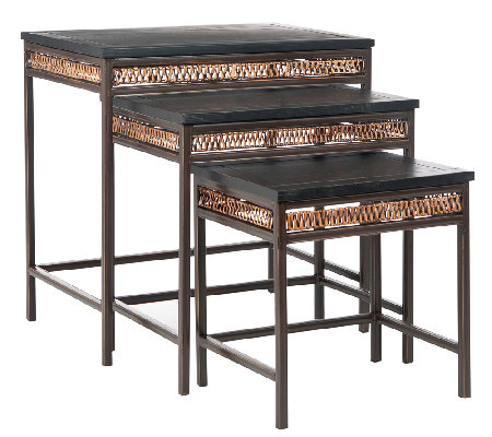 American Home Reed Stacking Tables