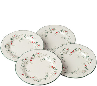 Pfaltzgraff Winterberry Salad Plates - Set of 4 - H287167