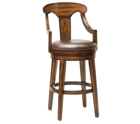Hillsdale Furniture Upton Swivel Counter Stool