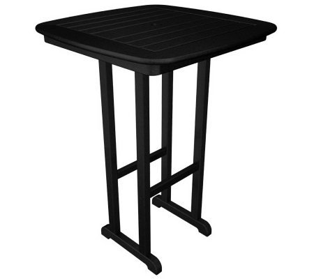 "POLYWOOD Nautical 31"" Bar Table"