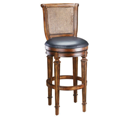 Hillsdale House Dalton Cane Back Swivel CounterStool