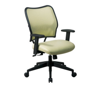 Office Star Ivory Deluxe Chair with VeraFlex - H154968