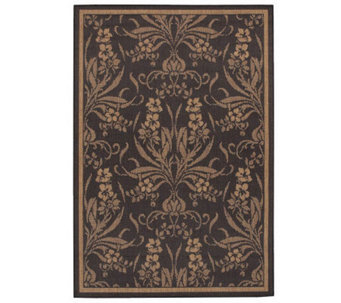 "Couristan Recife Cottage Indoor/Outdoor 5'3"" x7'6"" Rug - H175068"