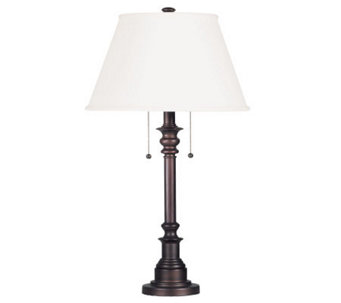 Kenroy Home Spyglass Table Lamp - Bronzed Finish - H181568