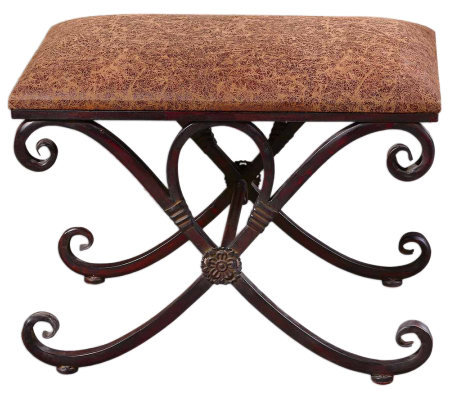 Manoj Small Bench by Uttermost