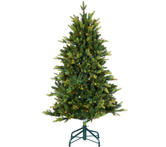 Bethlehem Lights 5' Prelit Noble Spruce Tree w/ Multi-Functions - H209268