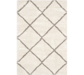"Safavieh 5'x7'6"" Lattice Hudson Shag Area Rug - H209868"