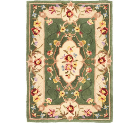 """As Is"" Royal Palace Special Edition Savonnerie 3' x 4'6"" Rug"