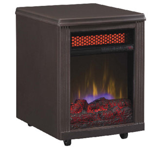 Duraflame Stanton Portable Infrared Quartz Fireplace Heater - H286268
