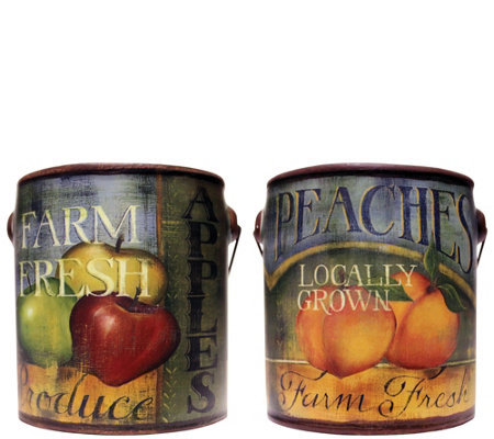 A Cheerful Giver Set of 2 Everyday Farm Fresh 20-oz Candles