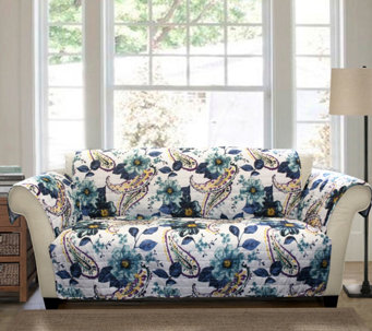 Floral Paisley Sofa Furniture Protector By LushDecor
