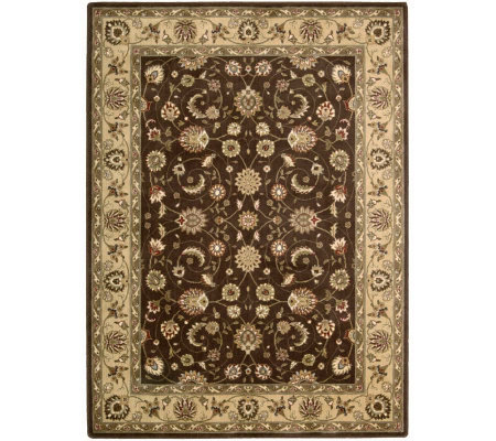 "Nourison Atlas 2' x 5'9"" Persian Machine-Made Framed Rug"