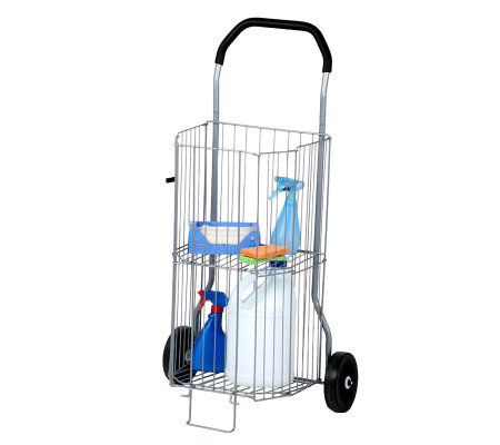 Honey-Can-Do 2-Tier All-Purpose Wheeled Cart