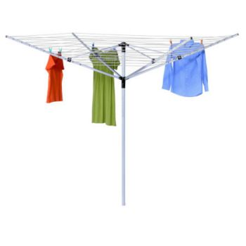Honey-Can-Do Adjustable Height Outdoor UmbrellaDryer