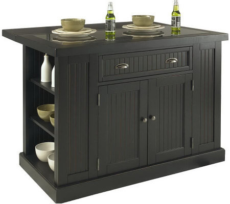 Home Styles Nantucket Kitchen Island Qvc