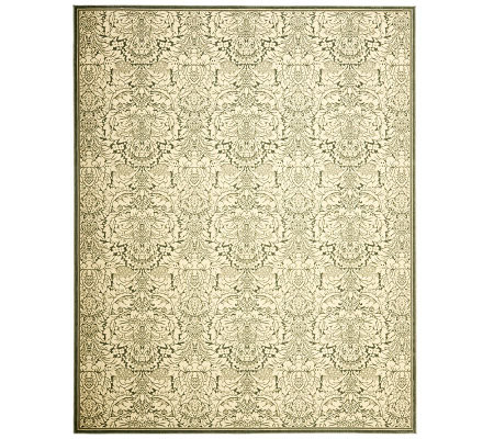 "Treasures Damask Power-Loomed Rug - 8'9"" x 12'"