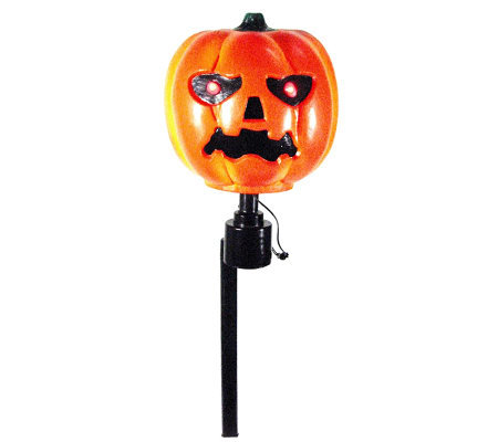 Battery Operated Pumpkin Rotating Head Path Marker